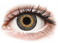 Grey contact lenses - non dioptric - Expressions Colors Grey - plano (1 lens)