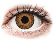 Brown contact lenses - non dioptric - Expressions Colors Hazel - plano (1 lens)