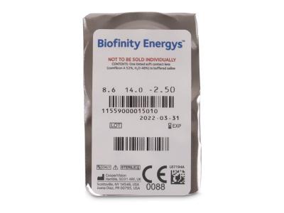 Biofinity Energys (3 lenses) - Blister pack preview
