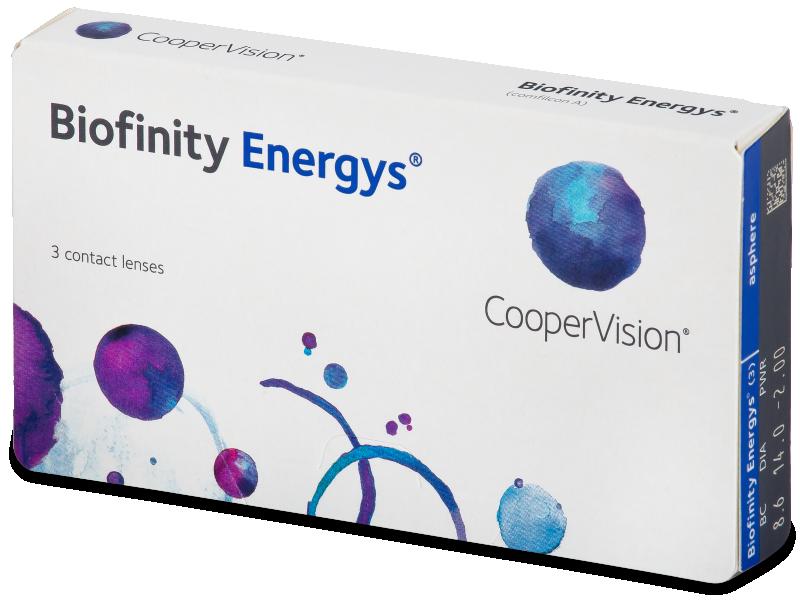 Biofinity Energys (3 lenses) - Contact lenses