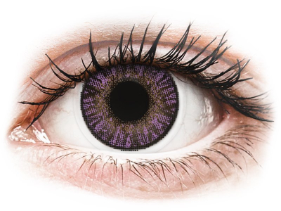 FreshLook ColorBlends Amethyst - power (2 lenses)
