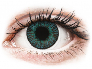 Blue contact lenses - dioptric - FreshLook ColorBlends Brilliant Blue - power (2 lenses)