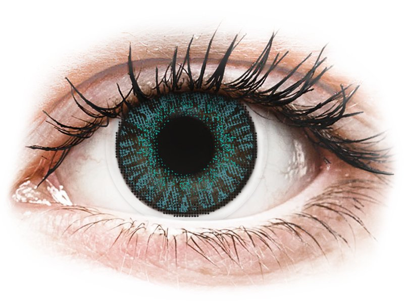 FreshLook ColorBlends Brilliant Blue - power (2lenses) - Coloured contact lenses