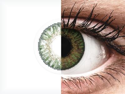 FreshLook ColorBlends Gemstone Green - power (2lenses)