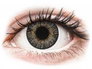 Grey contact lenses - non dioptric - FreshLook ColorBlends Grey - plano (2lenses)