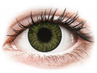 Power coloured lenses - FreshLook ColorBlends Green - power (2lenses)