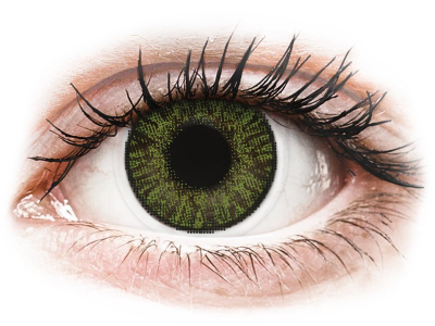 FreshLook ColorBlends Green - power (2 lenses)