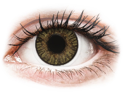 FreshLook ColorBlends Pure Hazel - power (2 lenses)