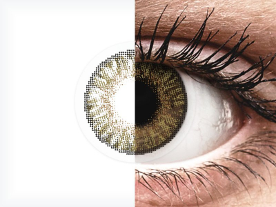 FreshLook ColorBlends Pure Hazel - plano (2 lenses)