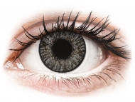 Grey contact lenses - non dioptric - FreshLook ColorBlends Sterling Gray - plano (2 lenses)