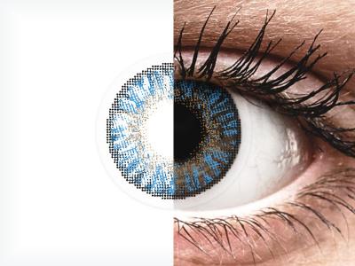FreshLook ColorBlends True Sapphire - plano (2lenses)