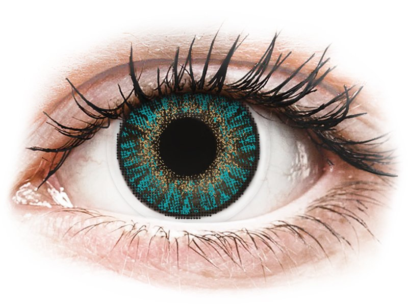 FreshLook ColorBlends Turquoise - power (2lenses) - Coloured contact lenses
