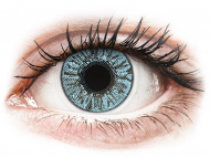 Blue contact lenses - dioptric - FreshLook Colors Blue - power (2 lenses)