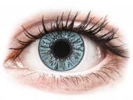 Blue contact lenses - non dioptric - FreshLook Colors Blue - plano (2lenses)