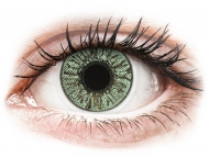 Green contact lenses - dioptric - FreshLook Colors Green - power (2lenses)