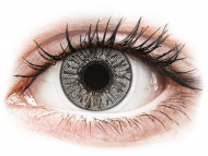 Grey contact lenses - non dioptric - FreshLook Colors Misty Gray - plano (2lenses)