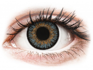 Blue contact lenses - non dioptric - FreshLook One Day Color Blue - plano (10lenses)