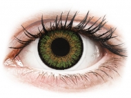 Green contact lenses - non dioptric - FreshLook One Day Color Green - plano (10 lenses)