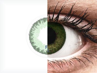 FreshLook Dimensions Sea Green - plano (2lenses)
