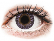 Purple contact lenses - non dioptric - TopVue Color - Violet - plano (2 lenses)