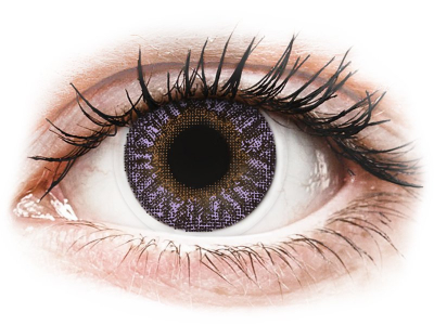 TopVue Color - Violet - plano (2 lenses)