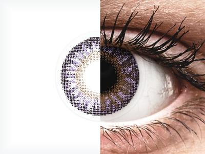 TopVue Color - Violet - plano (2lenses)