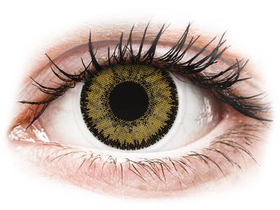 SofLens Natural Colors Dark Hazel - plano (2lenses)