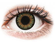 Brown contact lenses - dioptric - ColourVue One Day TruBlends Green - power (10 lenses)