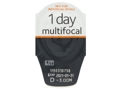 Proclear 1 Day Multifocal (30lenses) - Blister pack preview