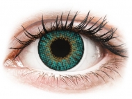 Green contact lenses - non dioptric - Air Optix Colors - Turquoise - plano (2 lenses)