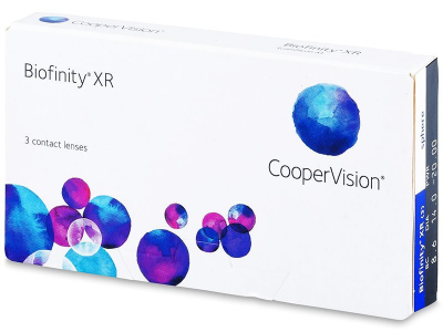 Biofinity XR (3lenses) - Monthly contact lenses