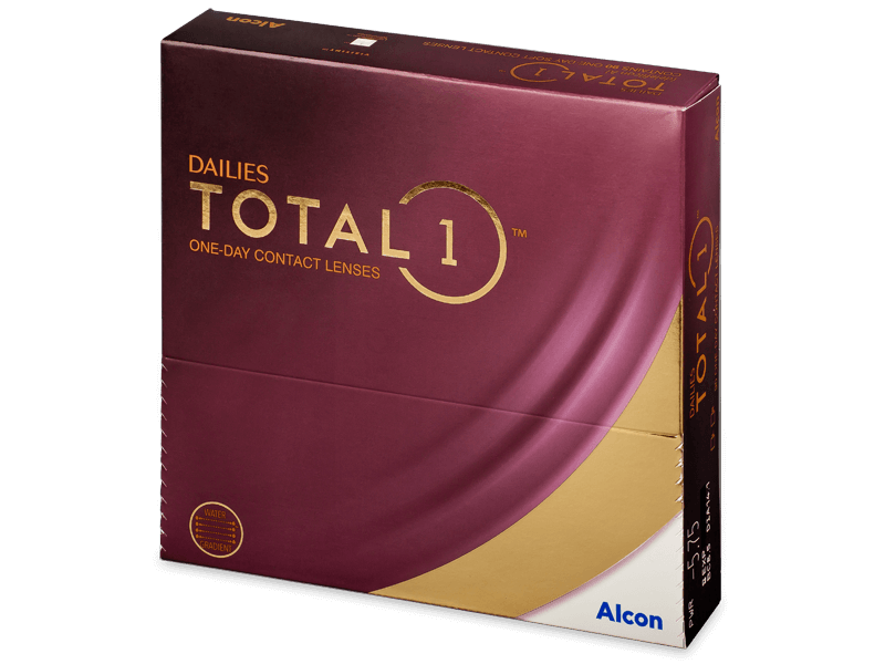 Dailies TOTAL1 (90lenses) - Daily contact lenses