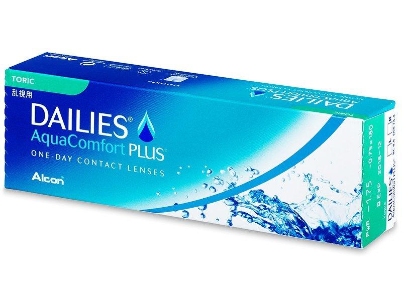 Dailies AquaComfort Plus Toric (30lenses) - Toric contact lenses