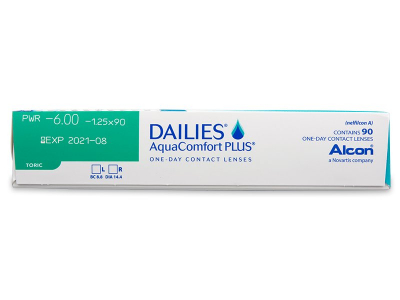Dailies AquaComfort Plus Toric (90lenses) - Attributes preview