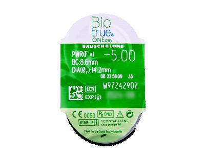 Biotrue ONEday (30lenses) - Blister pack preview