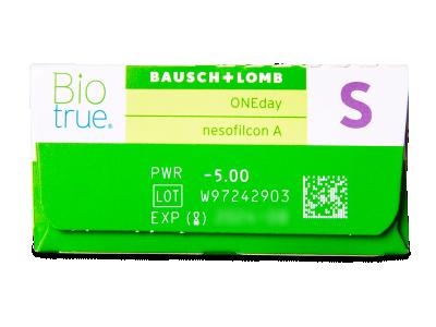 Biotrue ONEday (30lenses) - Attributes preview