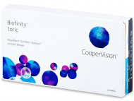 Toric Contact Lenses - Biofinity Toric (6 lenses)