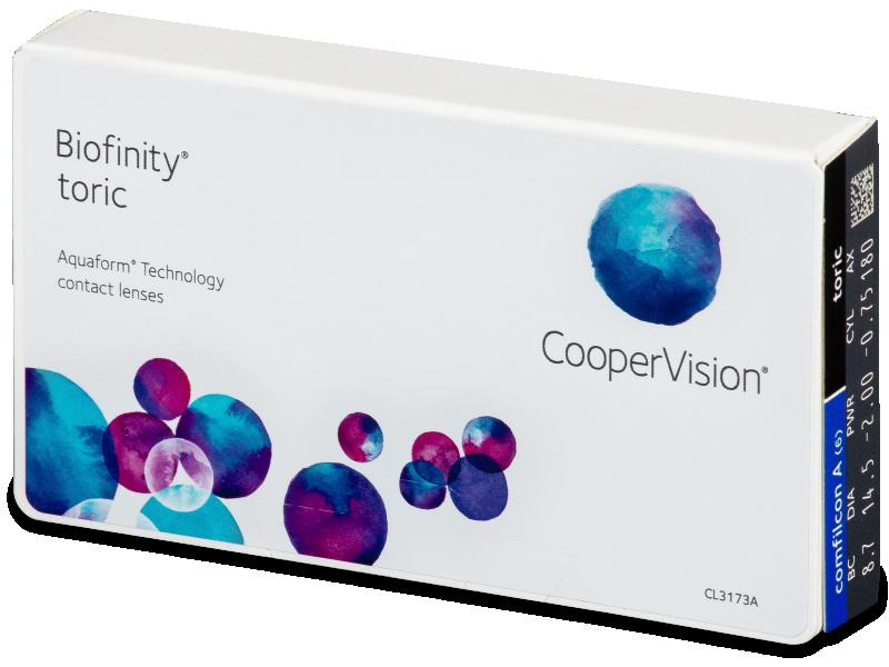 Biofinity Toric (6lenses) - Toric contact lenses