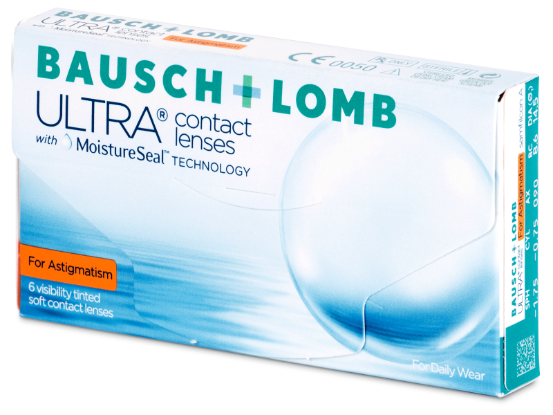 Bausch + Lomb ULTRA for Astigmatism (6 lenses) - Toric contact lenses