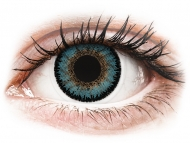 Coloured contact lenses - ColourVUE 3 Tones Aqua - plano (2 lenses)