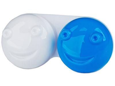 Lens Case 3D - blue