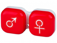 Accessories - Lens Case man & woman - red
