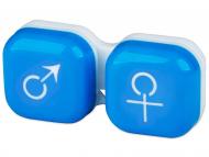Accessories - Lens Case man & woman - blue