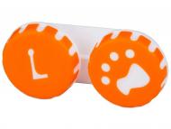 Accessories - Lens Case Paw orange