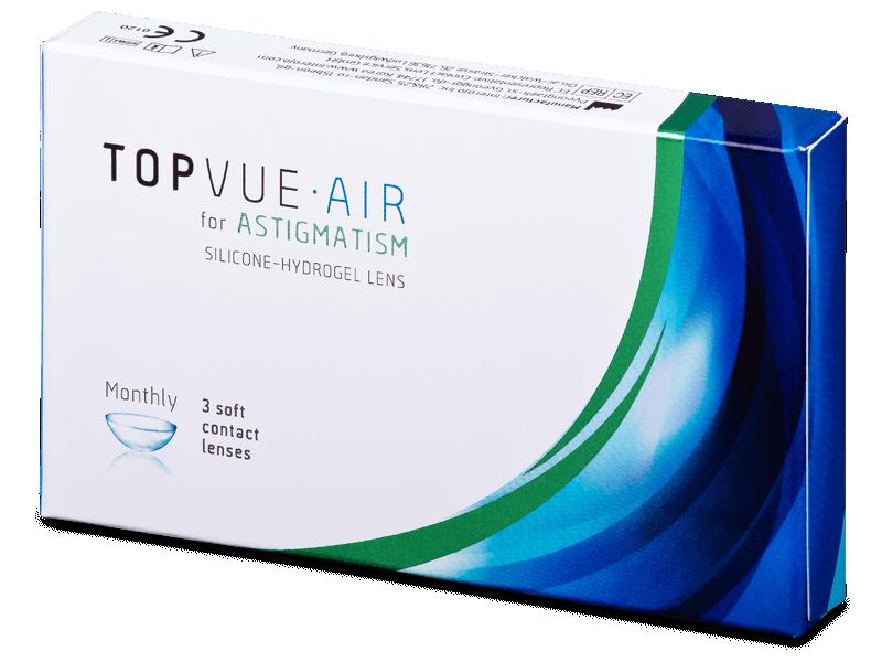 TopVue Air for Astigmatism (3lenses) - Toric contact lenses