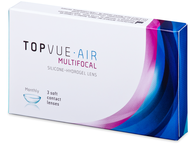 TopVue Air Multifocal (3 lenses) - Multifocal contact lenses