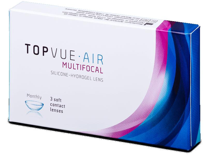 TopVue Air Multifocal (3 lenses) - Multifocal contact lenses