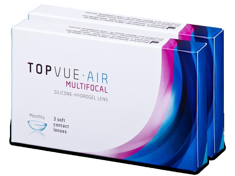 TopVue Air Multifocal (6 lenses) - Multifocal contact lenses