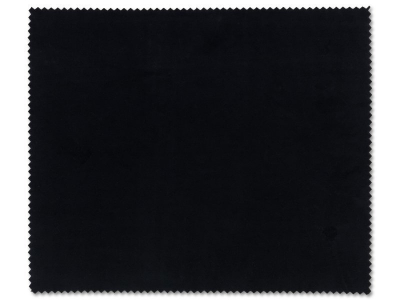 Glasses cleaning cloth - black