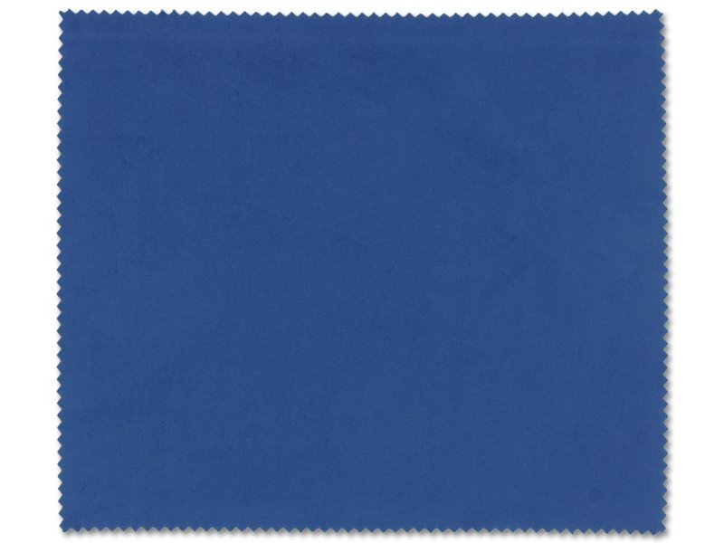 Glasses cleaning cloth - blue